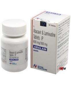 Buy generic Epzicom online (Abacavir Sulphate / Lamivudine) for the lowest price. Abalam is a quality assured generic produced in India by Hetero Drugs Ltd, an FDA approved manufacturer.