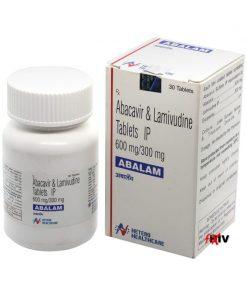 Buy Abalam Epzicom Generic Abacavir Lamivudine HIV Hetero