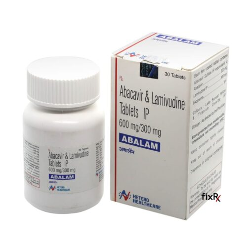 Buy generic Epzicom (Abacavir Sulphate/Lamivudine) 'Abalam' at an affordable cost. It's produced by Hetero Drugs Ltd® of the USA, an FDA approved manufacturer. 'Abalam' holds quality assurance certification.