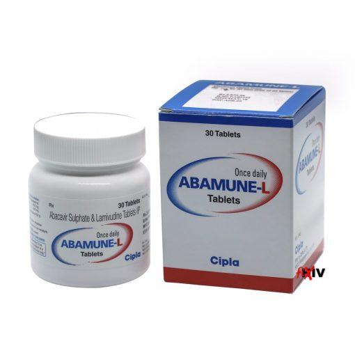Buy Abamune-L Epzicom Generic Abacavir Lamivudine HIV Cipla
