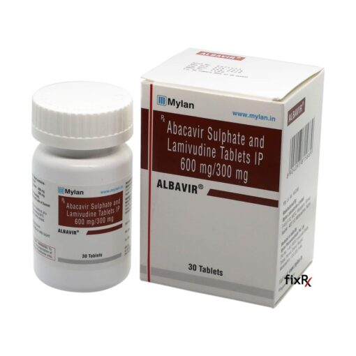Buy generic Epzicom (Abacavir Sulphate/Lamivudine) 'Albavir' at an affordable cost. It's produced by Mylan Pharmaceuticals® of the USA, an FDA approved manufacturer. 'Albavir' holds quality assurance certification.