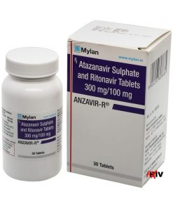 Buy Reyataz / Norvir generic (Atazanavir / Ritonavir) for the lowest price. Anzavir-R is produced under license in India by Mylan Pharmaceuticals Ltd. It's indicated for the treatment of HIV and off-label for the treatment of Coronavirus (COVID-19).