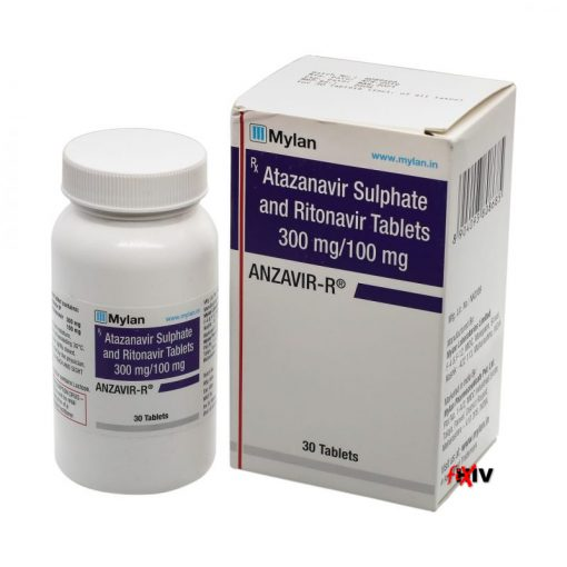 Buy generic Reyataz +generic Norvir online (Atazanavir Sulphate + Ritonavir) for the lowest price. Anzavir-R is a quality assured generic produced in India by Mylan Pharmaceuticals of the USA, an FDA approved manufacturer.