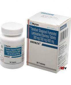 Buy Avonza Symfi Lo Viread Epivir Sustiva generic efavirenz lamivudine tenofovir disoproxil fumarate HIV complete regimen Mylan