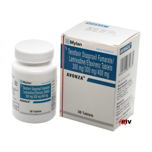 Buy generic Viread + generic Epivir + generic Sustiva online (Efavirenz + Lamivudine + Tenofovir Disoproxil Fumarate) for the lowest price. Avonza is a quality assured generic produced in India by Mylan Pharmaceuticals of the USA, an FDA approved manufacturer.