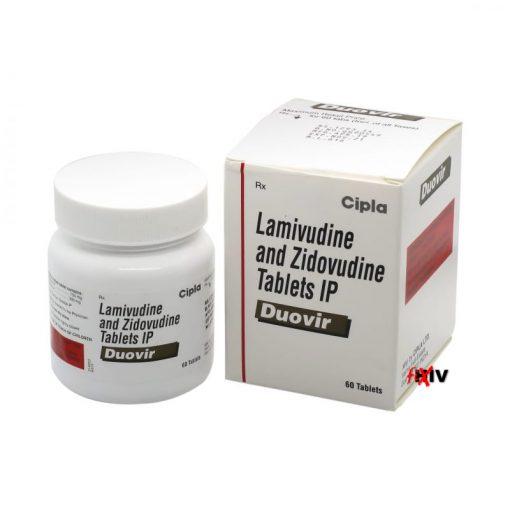 Buy Duovir Combivir Generic Lamivudine Zidovudine HIV Cipla