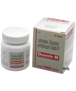 Buy generic Combivir + Viramune (Lamivudine/Zidovudine + Nevirapine) 'Duovir-N' at an affordable cost. It's produced by Cipla Inc® of India, an FDA approved manufacturer. 'Duovir-N' holds quality assurance certification.
