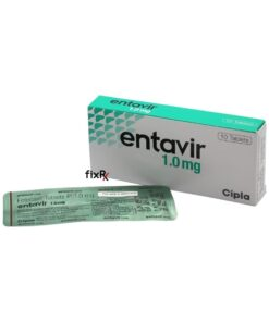 Buy generic Baraclude (Entecavir) 'Entavir 1.0 mg' at an affordable cost. It's produced by Cipla Inc® of India, an FDA approved manufacturer. 'Entavir' holds quality assurance certification.