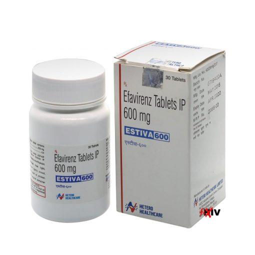 Buy Estiva Sustiva Generic Efavirenz HIV Hetero