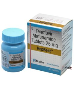 Buy generic Vemlidy (Tenofovir Alafenamide) 'HepBest' at an affordable cost. It's produced by Mylan Pharmaceuticals® of the USA, an FDA approved manufacturer. 'HepBest' holds quality assurance certification.