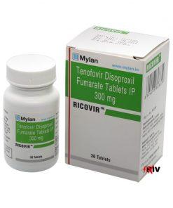 Buy Viread Ricovir Generic Tenofovir disoproxil fumarate HBV HIV Mylan