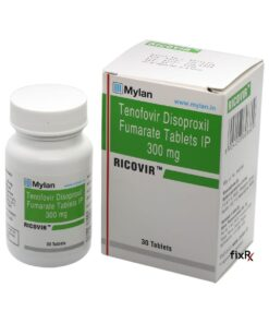 Buy generic Viread (Tenofovir Disoproxil Fumarate) 'Ricovir' at an affordable cost. It's produced by Mylan Pharmaceuticals® of the USA, an FDA approved manufacturer. 'Ricovir' holds quality assurance certification.