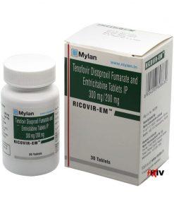 Buy Rocvir-EM Truvada generic HIV prep emtricitabine tenofovir disoproxil fumarate Mylan