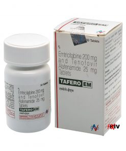 Buy Tafero-EM (Tenofovir Alafenamide/Emtricitabine) for the best price. It's a quality assured Descovy generic produced by Hetero Drugs Ltd of India, an FDA approved manufacturer.