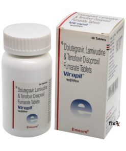 Buy generic Dovato + Viread (Dolutegravir/Lamivudine + Tenofovir Disoproxil Fumarte) 'Viropil' at an affordable cost. It's produced by Emcure Pharmaceuticals Ltd® of India, an FDA approved manufacturer. 'Viropil' holds quality assurance certification.