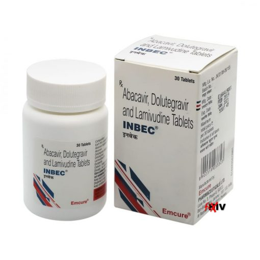 Buy generic Triumeq (Abacavir Sulphate/Lamivudine/Dolutegravir) 'Inbec' at an affordable cost. It's produced by Emcure Pharmaceuticals Ltd® of India, an FDA approved manufacturer. 'Inbec' holds quality assurance certification.