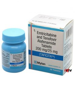 Buy Taficita (Tenofovir Alafenamide / Emtricitabine) for the best price. It's a quality assured Descovy generic produced in India by Mylan Pharmaceuticals of the USA, an FDA approved manufacturer.