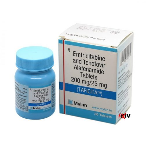 Buy Taficita (Tenofovir Alafenamide / Emtricitabine ) for the lowest price. Taficita is a Descovy generic produced by Mylan Pharma of the USA under license in India.