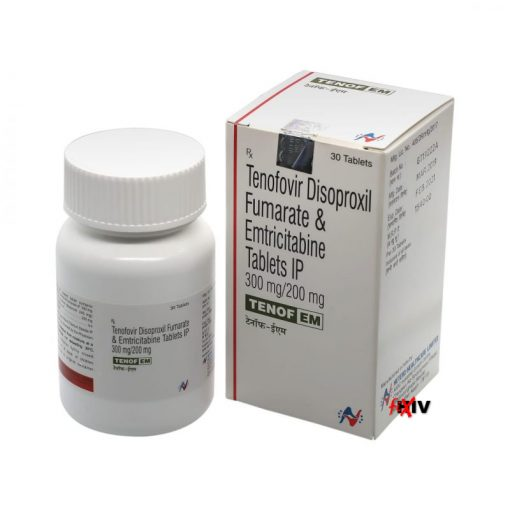 Buy Tenof-EM (Tenofovir Disoproxil Fumarate / Emtricitabine) for the lowest price. Tenof-EM is a Truvada generic produced under license in India and approved by the World Health Organization.