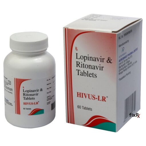 Buy generic Kaletra (Lopinavir/Ritonavir) 'Hivus-LR' at an affordable cost. It's produced by Aurobindo Pharma® of India, an FDA approved manufacturer. 'Hivus-LR' is certified by the World Health Organization to meet unified standards of quality, safety and efficacy.