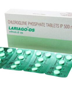 Buy Chloroquine generic 'Lariago-DS' at an affordable cost. It's produced by Ipca Laboratories Ltd® of India, an FDA approved manufacturer. 'Lariago-DS' holds quality assurance certification. s Ltd®