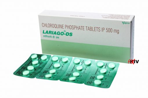 Buy Chloroquine 500 mg for the lowest price. Lariago-DS is a quality assured Chloroquine generic produced in a FDA approved factory in India. Chloroquine is used for the treatment and prevention of Malaria, and for the treatment of Coronavirus (COVID-19).