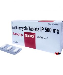 Buy generic Zithromax 'Z-Pack' online (Azithromycin) for the lowest price. Azicip-500 is a quality assured generic produced in an FDA approved factory in India. It's used for the treatment of bacterial infections.
