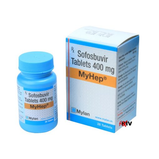 Buy generic Sovaldi (Sofosbuvir) for the lowest price. MyHep is produced under license in India by Mylan Pharmaceuticals of the USA, an FDA approved manufacturer.