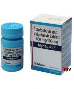 Buy generic Epclusa online (Sofosbuvir 400 mg / Velpatasvir 100 mg) for the lowest price. MyHep All is produced under license in India by Mylan Pharma of the USA, an FDA approved manufacturer.