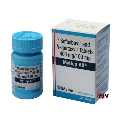 Buy generic Epclusa (Sofosbuvir / Velpatasvir) for the lowest price. MyHep All is produced under license in India by Mylan Pharma of the USA, a FDA approved manufacturer.