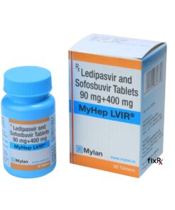 Buy generic Harvoni (Sofosbuvir/Ledipasvir) 'MyHep LVIR' at an affordable cost. It's produced under license by Mylan Pharmaceuticals® of the USA, an FDA approved manufacturer. Additionally, 'MyHep LVIR' holds quality assurance certification.