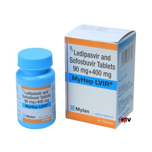 Buy generic Harvoni (Sofosbuvir / Ledipasvir) for the lowest price. MyHep LVIR is produced under license in India by Mylan Pharmaceuticals of the USA, a FDA approved manufacturer.