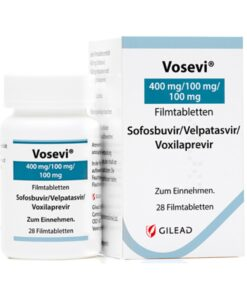 Buy Vosevi (Sofosbuvir/Velpatasvir/Voxilaprevir) at an affordable cost. It's an authentic medicine sourced from authorized distributors in international markets where drugs cost less. Vosevi is a brand-name medicine (not a generic) produced by Gilead Sciences Inc® of the USA.