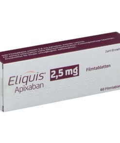 Buy Eliquis 2.5 mg (Apixaban) at an affordable cost. It's an authentic medicine sourced from authorized distributors in countries where drug costs are low. Eliquis® is produced by Bristol-Myers Squibb®.