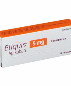 Buy Eliquis 5 mg (Apixaban) at an affordable cost. It's an authentic medicine sourced from authorized distributors in countries where drug costs are low. Eliquis® is produced by Bristol-Myers Squibb®.