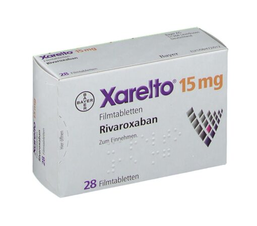 Buy Xarelto 15 mg (Rivaroxaban) at an affordable cost. It's an authentic medicine sourced from authorized distributors in countries where drug costs are low. Xarelto® is produced by Janssen Pharmaceuticals Inc®