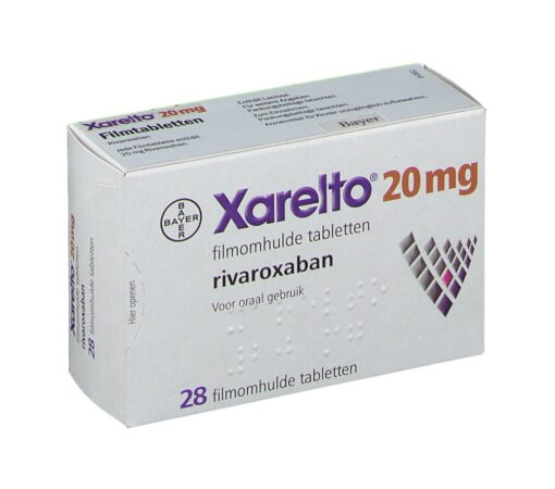 Buy Xarelto 20 mg (Rivaroxaban) at an affordable cost. It's an authentic medicine sourced from authorized distributors in countries where drug costs are low. Xarelto® is produced by Janssen Pharmaceuticals Inc®