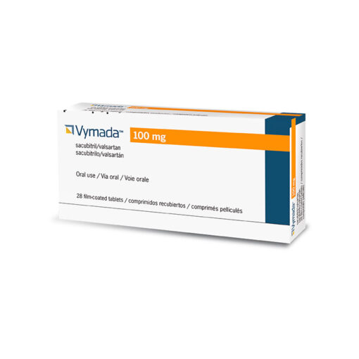 Buy Entresto 100 mg authorized generic 'Vymada' (Sacubitril / Valsartan) at an affordable cost. It's an authentic medicine sourced from authorized distributors in countries where drug costs are low. Vymada® is produced by Novartis AG®.