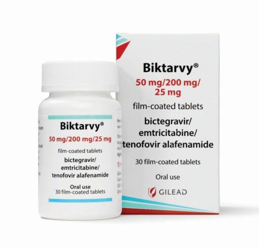 Buy Biktarvy (Bictegravir /Emtricitabine / Tenofovir Alafenamide) at an affordable cost. It's an authentic medicine sourced from authorized distributors in countries where drug costs are low. Biktarvy® is an HIV-1 complete treatment regimen and is produced by Gilead Sciences®