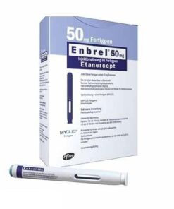 Buy Enbrel 50 MG (Etanercept) (2 pens) at an affordable cost. It's used to treat autoimmune diseases. Enbrel® is produced by Pfizer Inc®, and sourced from authorized distributors in countries where drug costs are low.