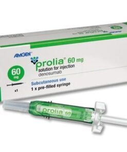 Buy Prolia 60 MG (Denosumab) (1 Syringe) at an affordable cost. It's used to treat bone diseases. Prolia® is produced by Amgen Inc®, and sourced from authorized distributors in countries where drug costs are low.