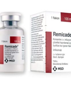 Buy Remicade 100 MG (Infliximab) (1 vial) at an affordable cost. It's used to treat autoimmune diseases. Remicade® is produced by Merck & Co Inc®, and sourced from authorized distributors in countries where drug costs are low.